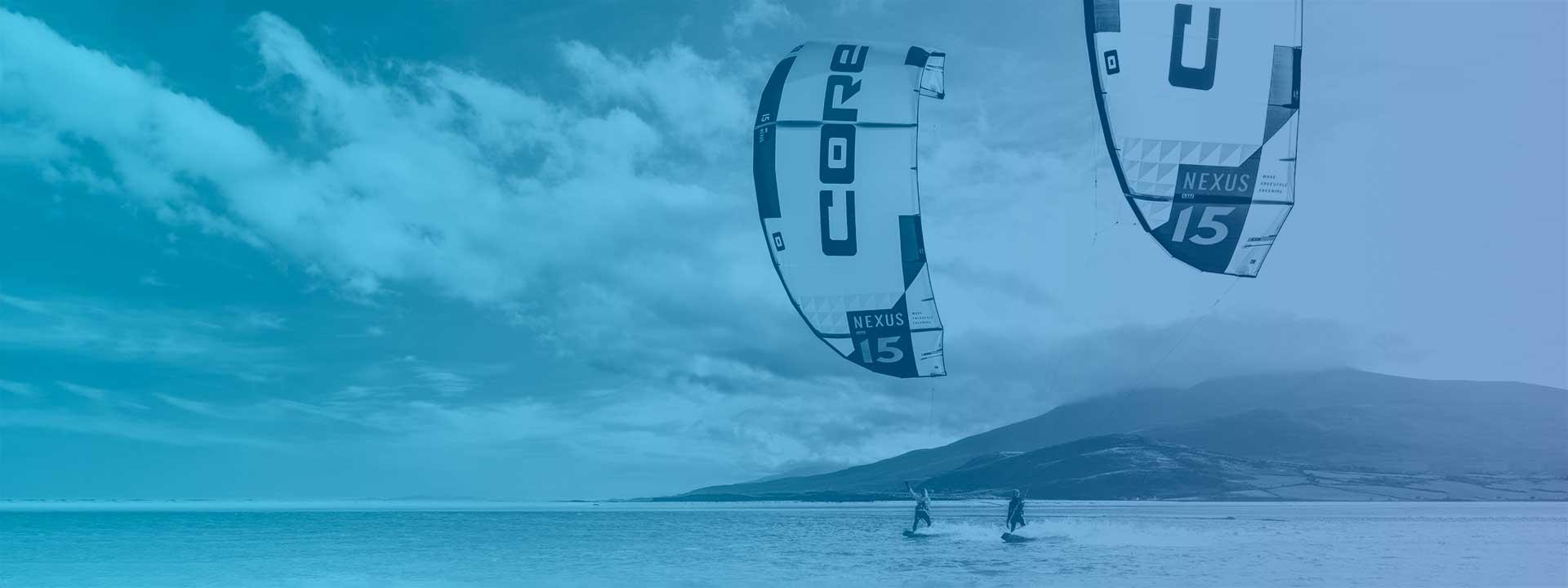 Noleggio attrezzatura kitesurf Stagnone Core